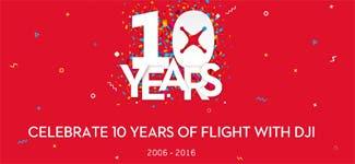 DJI 10 Year Celebration Sale
