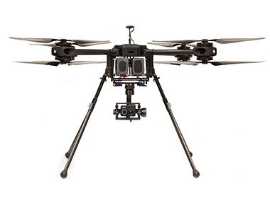 titan x8, flir duo pro thermal drone