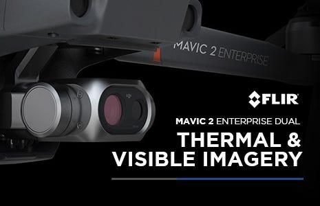 DJI Mavic 2 Enterprise Dual Thermal Drone