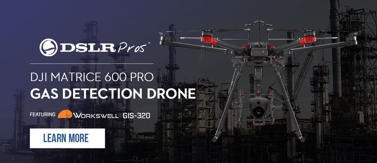 Matrice 600 Gas Detection Drone