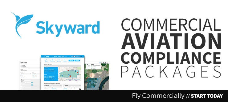 Fly Commercially with Skyward services in the US and Canada.