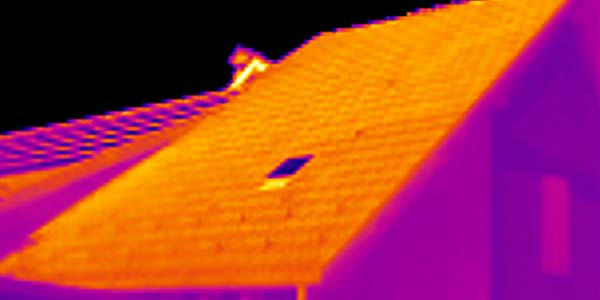roof inspection thermal drone