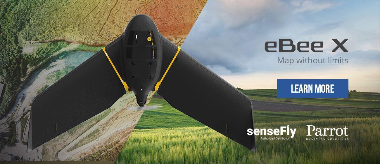 Shop senseFly eBee X drones