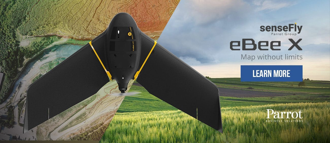 shop sensefly ebee x fixed-wing drone