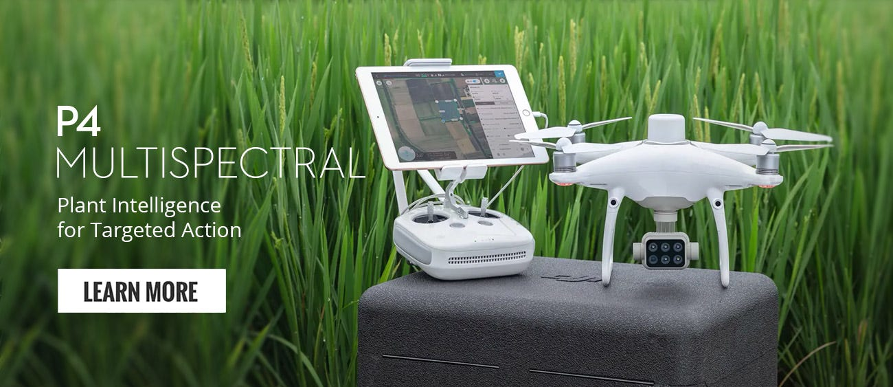 Shop DJI P4 Multispectral Drone