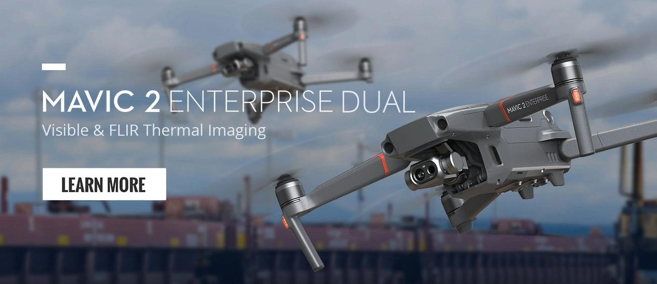 Shop Mavic 2 Enterprise Dual Thermal Drone